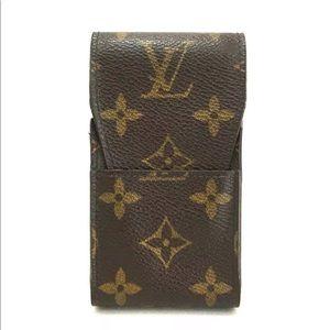 Louis Vuitton Monogram Cigarette Tobacco Case